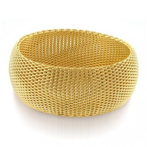 Soft Mesh Gold Jewellery