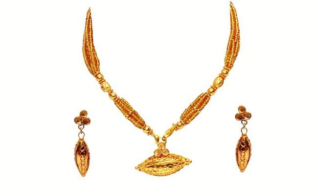 Assamese Kesa Gold Jewellery