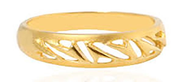 Trendy Gold Ring