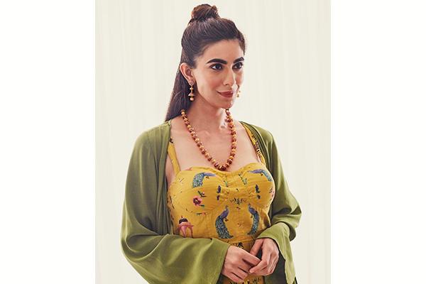 Jhumka Necklace Set Gold<br />