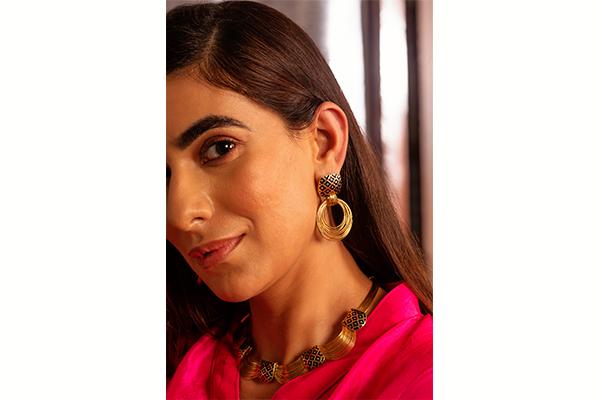 Bali Gold Earrings<br />