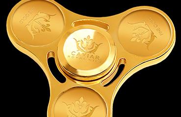 Dizzy spinning gold