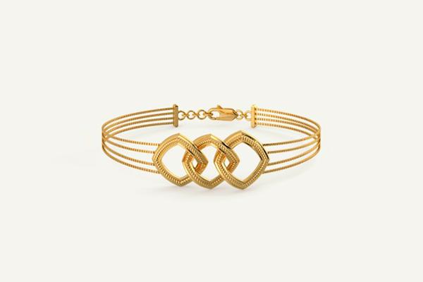 The Gold Olivia Bracelet