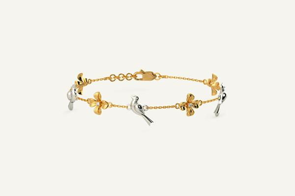 The Gold Ivah Bracelet