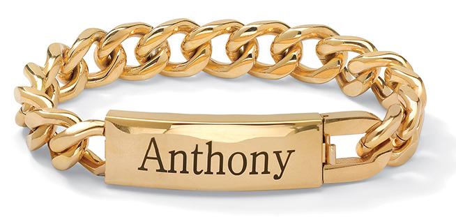 Beautiful Gold Bracelet For Men