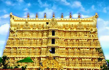 Golden treasures of Padmanabhaswamy temple