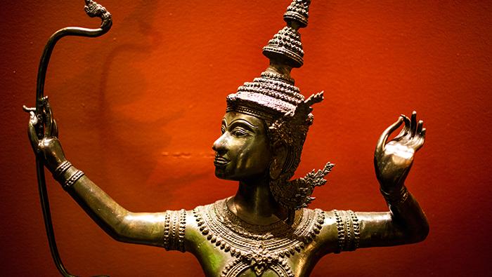 The golden leaf in Ramayana