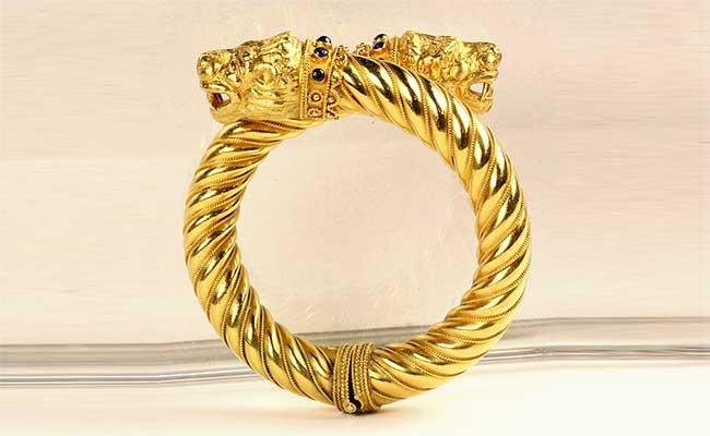 Gunus - Traditional Kashmiri Gold Bangle