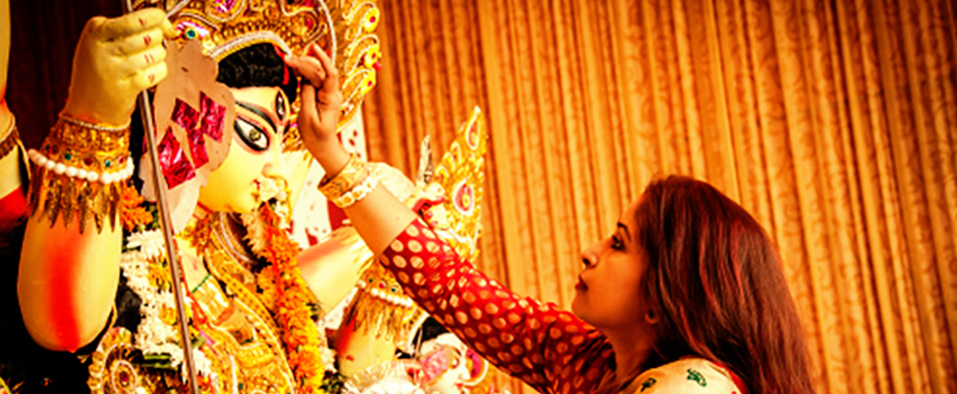 Gold Ornaments - A popular choice of adornment for idols of gods and goddesses