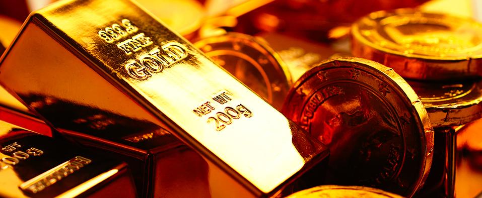 Gold investment portfolio