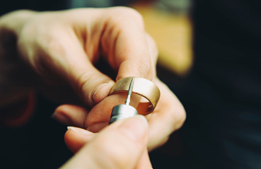 Process of gold hallmarking