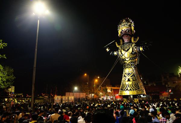 The famous golden city of Lanka
