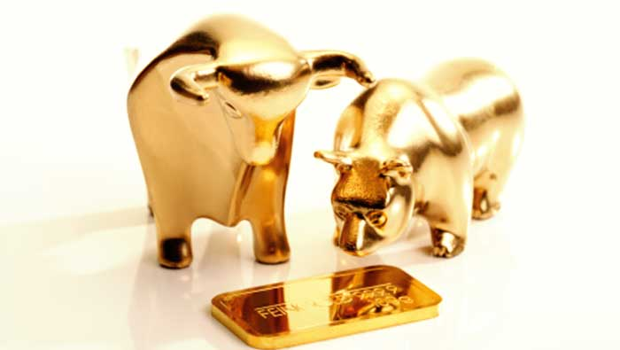 How gold reacts when the stock market falls