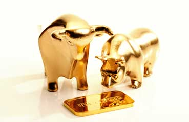Investors view gold as a hedge against market uncertainties