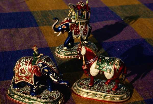 Traditional Meenakari Design Artefacts