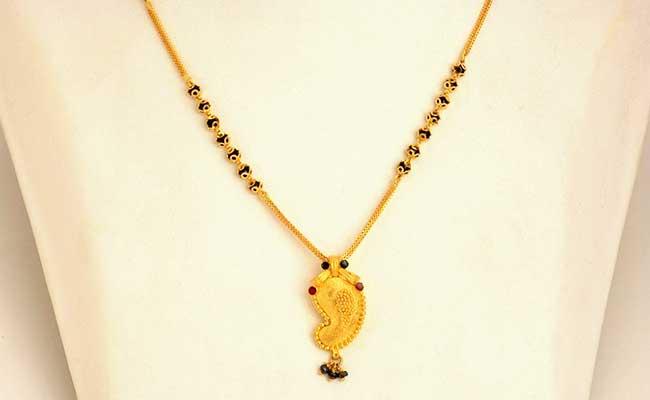 Gold Karimani Necklace