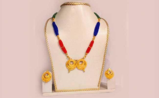Kerumoni - Traditional Assamese Gold Jewellery