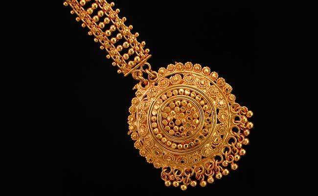 Maang Tika - Traditional Kashmiri Gold Jewellery