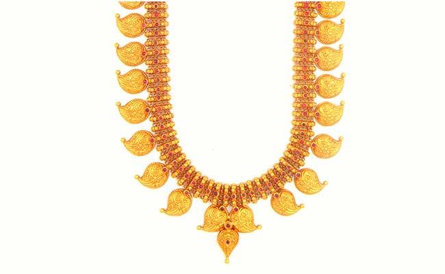 Manga gold Necklace