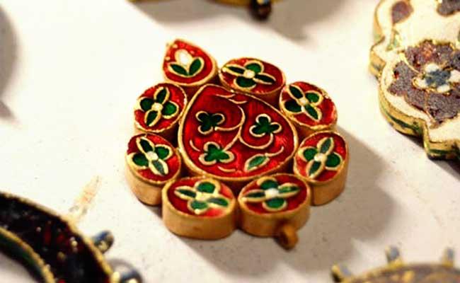 Traditional Meenakari Jewellery Design