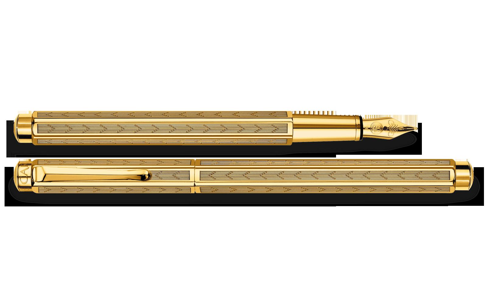 Name Engraved Gold Pen
