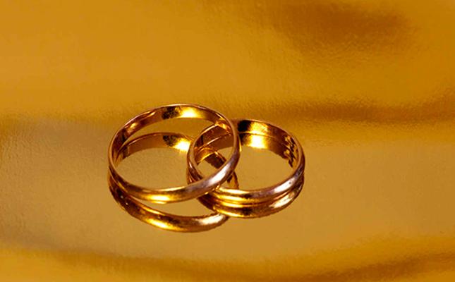 Gift gold rings
