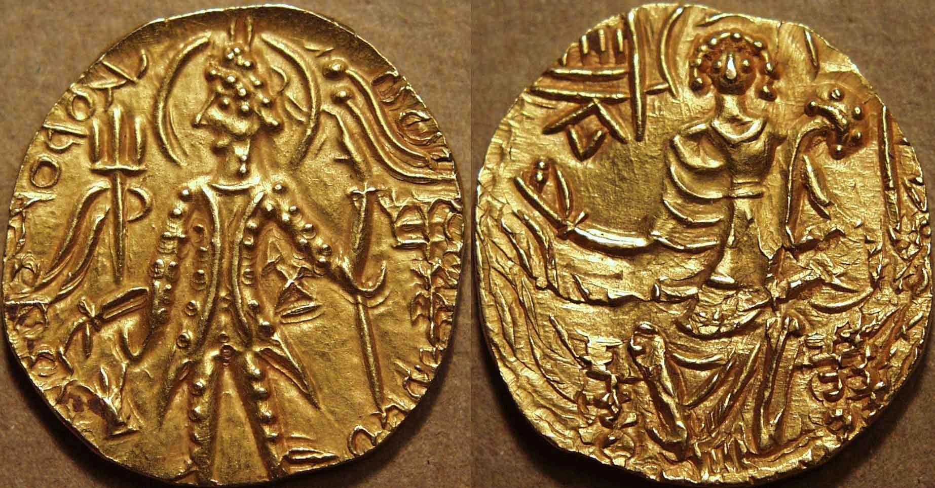 Designer Gold Coins From Shaka Reign