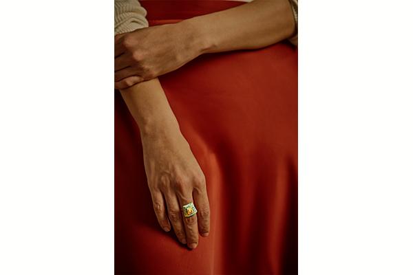 Jadau Gold Ring<br />