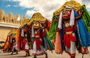 The golden dussehra of Mysore