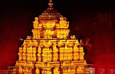 The golden story of Sri Venkateswara Temple