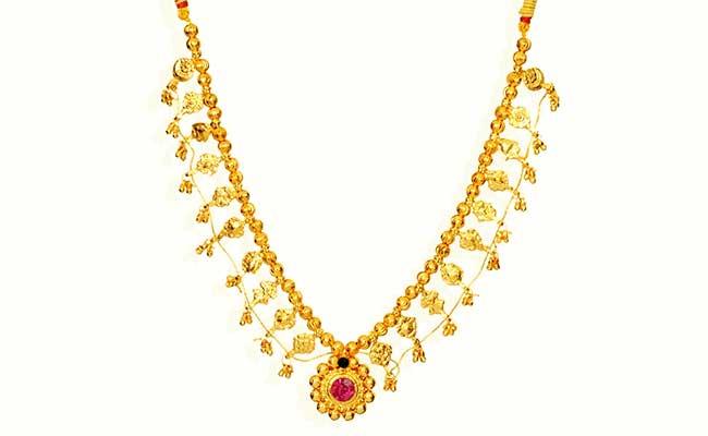 Kolhapuri saaj - Traditional Maharashtrian Gold jewellery named after Kolhapur city