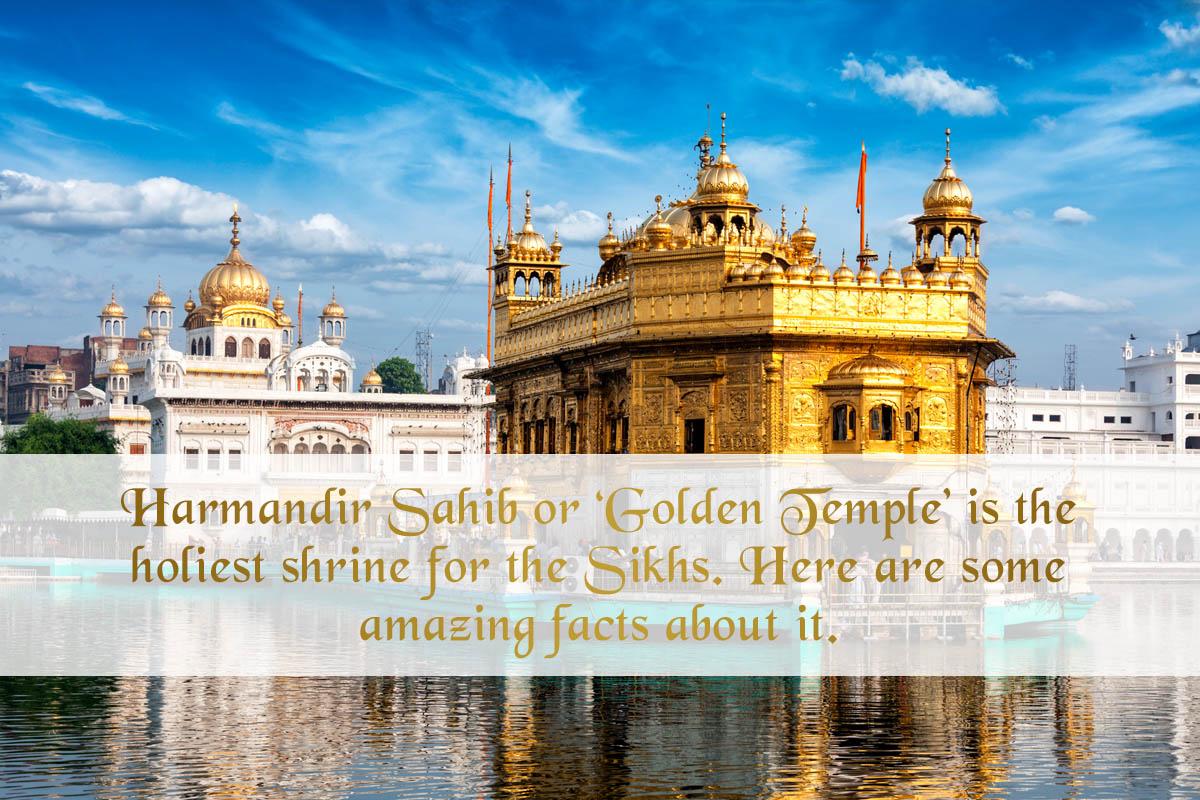 Sri harmandir sahib shrine facts