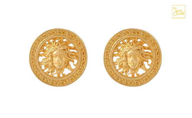 Antique Gold Earring Design