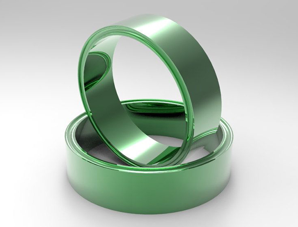 Green Gold Ring For Royal Look