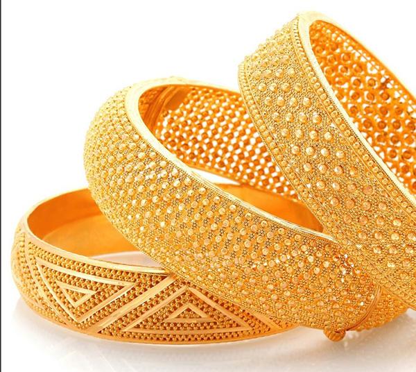 Bright Golden Bangles