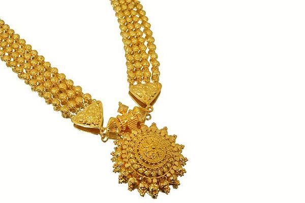 Bridal Gold Jewellery Entele Sara Design