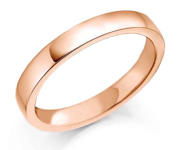 Enchanting Ring Made Of Pink Gold