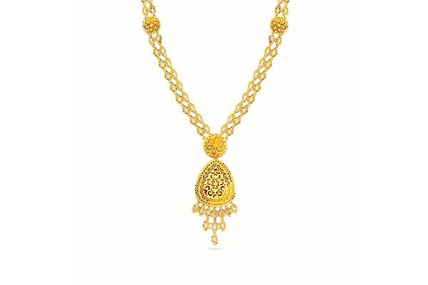 Haram Gold Necklace Design