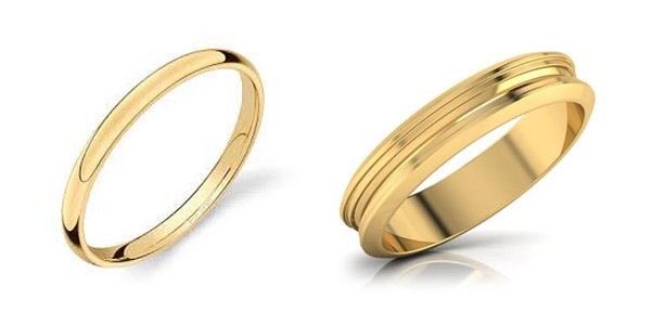 Gold Ring Made Of Yellow Gold